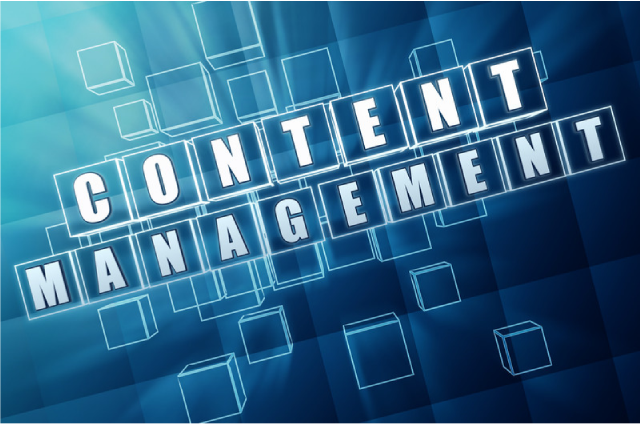 content management and development